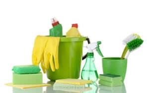 Rengøringsartikler til rengøring